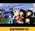 Touhou MMD - Civil War trailer2,Film & Animation,touhou,MMD,parody,iron man,captain america,civil war,trailer,comedy,sanae,marisa,reimu,nitori,hype,which side,reaction,rage,batman,superman,animation,recreation,orin,utsuho,yukari,aya,viral,review,Captain Gensoukyou VS Iron-Marisa! Which side are you