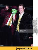 "JULY 28, 1994 LOS ANGELES. JIM CAREY FROM ""MASK"" AT THE PARTY FOR ""MASK"". PHOTO: DAVID KEELER/ONLINE USA"