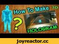 Как сделать голографическую 3D пирамиду своими руками / How to make a holographic 3D pyramid,Science & Technology,как сделать,Roman Ursu,своими руками,Роман Урсу,самоделки,голографическая,пирамида,3d,стекло,идея,иллюзия,как сделать 3d,голограмма,делать,поделки,подарки,игрушки,в домашних условиях,сде