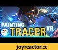 TiltBrush VR Painting - Tracer!! Overwatch!!,Howto & Style,tiltbrush,overwatch,tracer,widowmaker,art,concept art,concept design,illustration,sketching,anime,sexy,girl,tracer ass,tracer butt,butt,aldoori,art center,ahmed,design,character art,how to color,how to paint,manga,sakimichan,patreon,new