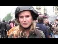 Корреспондента RT ударили во время протеста в Париже в прямом эфире,News & Politics,rt,видео,анна баранова,атака,удар,нападение,корреспондент,протест,трудовая реформа,пресса,журналист,труд,кодекс,париж,франция,Участники акции протеста в Париже против трудовой реформы пытались помешать работе корресп