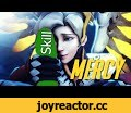 Overwatch - Mercy fun and intense,Gaming,Overwatch,Mercy,widow,tracer,gameplay,blizzard,overwatch gameplay,beta,hero,heroes,game,epic,ult,multiplayer,winston,lore,It's nice to be appreciated --(_;);'