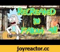 Rick and Morty Best Scenes - Recreated in Fallout 4 (MODS) - Part 1,Gaming,Rick and Morty Best Scenes - Recreated in Fallout 4 - Part 1,best of rick and morty,rick and morty best scenes,fallout 4,fallout,video games,gaming,adult swim,cartoons,animation,VIDEO,recreated in fallout