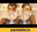 Overwatch: Tracer Makeup Tutorial (Clothes Painted on!),Howto & Style,Halloween,makeup tutorial,body painting,halloween makeup tutorial,halloween tutorial,special effects makeup,spfx makeup tutorial,special effects,prosthetic makeup,tracer,tracer cosplay,tracer makeup,tracer