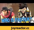 Who Is Faster - Tracer or The Scout?,Gaming,Hamaji,Hamaji Neo Gaming,Gaming,TF2,Team,Fortress,Overwatch,Tracer,Scout,Video Games,Thanks so much for watching this video! If you enjoyed it, please backstab the crap out of that like button. It'd be much appreciated!