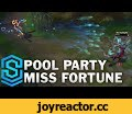 Pool Party Miss Fortune Skin Spotlight - Pre-Release - League of Legends,Gaming,Pool Party Miss Fortune,Skin Spotlight,Miss Fortune,Pool Party,gameplay,preview,League of Legends,This is a teaser spotlight of Pool Party Miss Fortune with ingame gameplay!   Price: 1350RP Skin name is CONFIRMED as