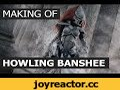 Making of Eldar Howling Banshee costume,Howto & Style,cosplay,fantasy,eldar,howling banshee,eldar banshee,warhammer,warhammer 40000,warhammer 40k,dawn of war,dawn of war III,dawn of war 3,tutorial,cosplay tutorial,russian cosplay,armor making,cosplay armor,armor tutorial,bone painting,painting