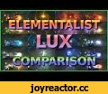 Elementalist Lux Comparison All 10 Forms - Abilities /  New Ultimate Skin Spotlight 2016 LoL,Gaming,lol,league,of,legends,moba,game,animation,skin,spotlight,pbe,funny,best,montage,2016,riot,gameplay,new,amazing,elementalist,elements,form,lux,ultimate,ability