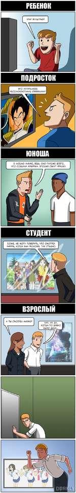 Смотреть комиксы аниме