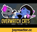 "Overwatch but with Cats - ""Katsuwatch"" - Tank Heroes,Entertainment,overwatch,cats,fight,animation,katsuwatch,katsu watch,katsu,watch,dillongoo,dillon goo,dillon gu,over watch,cute cats,cute,funny,highlight intros,play of the"