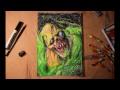 Fallout Gul Art Pastel Draw | Фоллаут рисунок масленной пастелью,Howto & Style,Art,Fallout,game art,pastel,draw,speed paint,gul,fan art,арт,гуль,рисование,ускоренное видео,игровой арт,фоллаут,пастель,пастельная бумага,vista-artista,фанатский арт,как научиться рисовать,wyto art,Попробовал себя в рисо