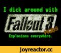 So I installed some mods for Fallout3...,Gaming,Fallout mods,Fallout 3 mods,Warhammer mods,WTF fallout mods,Funny fallout mods,Stupid Mods,Funny Fallout 3 mods,Hilarious Mods,Werid Fallout mods,Warhammer falllout mod,WTF mods,Fallout naked,fallout mods stupid,Crazy fallout mods,Fallout