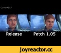 Mass Effect: Andromeda - Patch 1.05 Animation Comparison,Gaming,Mass Effect,Andromeda,MEA,ME,Addison,Peebee,Patch,first,1.05,первый,патч,масс эффект,МЕ,Андромеда,Эддисон,Пиби,сравнение,comparison,difference,разница,Addison and Peebee animation differences between release and 1.05 version (april 06 p