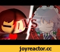 Frisk(Chara) Vs Sakuya Izayoi - (Undertale Vs Touhou) Animation,Film & Animation,Undertale,Touhou Project,touhou embodiment of scarlet devil,Finally!  It's finished!!! :D // You need to play Undertale & Touhou Project  Before watch this Video.Boi --------- -Phone Options-  -CONTINUE or RESET?