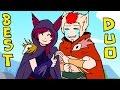 LOL - Xayah & Rakan - Best duo,Gaming,league,league of legends,animation,2d,lol,teemo,pentakill,minions,anime,animacion,theme,comic,league of legends 2d animation,demacia,stick,flash,lane,noob,summoners rift,lcs,world championship,version,quadra,kill,kenshiro,hokuto no