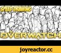 Speed Drawing: Overwatch,People & Blogs,art,illustration,overwatch,speed drawing,soldier 76,reinhardt,mccree,winston,tracer,A massively sped-up drawing of Overwatch by Adam. Compressed around 8 hours of drawing into 5 1/2 minutes. Originally streamed on Twitch. Want to watch us draw? Ask us how