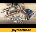 Pipe Revolver Pistol Replica - Fallout 4,Education,fallout 4,pipe revolver pistol,pipe action rifle,bethesda,fallout cosplay,3d printing,wasteland,prop making,fusion 360,autodesk,zortrax m200,how to 3d print for cosplay,fallout,Want to make costumes? Check out our books! www.kamuicosplay.com/books