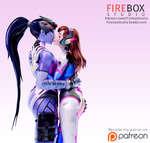 FIREBOX STUDIO Patreon.com/FireboxStudio FireboxStudio.Tumblr.com Become my patron on (§) patreon