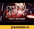 "Cannibal Corpse ""Code of the Slashers"" (OFFICIAL VIDEO),Music,metal,blade,official,mbtvexclusive,Cannibal Corpse,Code of the Slashers,Red Before Black,Zev Deans,Panorama Programming,Order at: http://www.metalblade.com/cannibalcorpse Cannibal Corpse ""Code of the Slashers"" from the album ""Red Before"