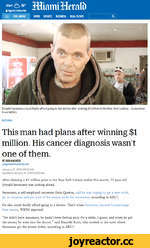 Alert 76° A Sign In | Subscribe = FULLMENU NEWS SPORTS BUSINESS REAL ESTATE I Q Donald Savastano could finally afford going to the doctor after winning $1 million in the New York Lottery. - Screenshot from WBNG NATIONAL This man had plans after winning $1 million. His cancer diagnosis wasn't o
