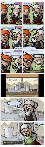 Dark Legacy Comics #541: Addict Это не нормально... Я думаю, тебе нужно побыть некоторое время снаружи... Но мы и так снаружи! Совет. Приводите своих друзей в Азерот, но не забывайте встречаться с ними и за его пределами. www.darkIegacycomics.com