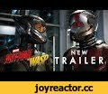 Marvel Studios' Ant-Man and The Wasp - Official Trailer,Entertainment,marvel,comics,comic books,nerd,geek,superhero,super hero,marvel studios,ant-man,the wap,ant-man and the wasp,antman,ant man,Real heroes. Not actual size. Marvel Studios' Ant-Man and The Wasp is In theaters July 6. ► Subscribe to