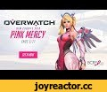 "[NOW AVAILABLE] Pink Mercy | Support BCRF | Overwatch,Gaming,""BE A HERO] Pink Mercy 