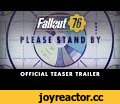 Fallout 76 – Official Teaser Trailer,Gaming,Fallout,Bethesda Game Studios,Todd Howard,Bethesda Softworks,PC,PlayStation 4,PS4,Xbox One,Xbox,Teaser,Trailer,E3,E3 2018,Watch the official teaser trailer for Fallout 76 from award-winning creators Bethesda Game Studios. https://beth.games/fallout76  See