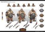 Ogre warriors / Melee infantry -dual weapons