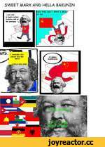 SWEET MARX AND HELLA BAKUNIN