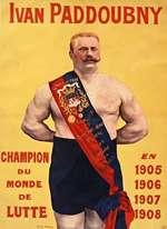 Ivan PADDOUBNY CHAMPION DU MONDE DE LUTTE