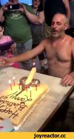 Blow out the candles...