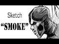 [ SAI ] Speedpaint-Smoke ( sketch ),Howto & Style,mortal kombat,sai,smoke,speedpaint,мортал комбат,смоук из мортал комбат,MKX,МК,рисование,как рисовать,mortal kombat x,уроки рисования,photoshop,Музыка : Scooter-Fire