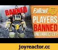 Fallout 76 is Banning Players (Wrongly?),Gaming,juicehead,fallout 76,fallout 76 bans,fallout 76 banning,fallout 76 cheats,fallout 76 bug,fallout 76 exploit,fallout 76 exploits,fallout 76 exploit ban,fallout 76 dupe,juicehead fallout 76,fallout 76 gameplay,Today we take a look at some new info
