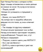 Анекдот Наташа Ростова И Лошадь