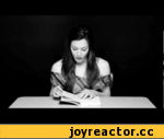 """Hysterical Literature: Session One: Stoya,Entertainment,Literature,Stoya,Supervert,Books,B&W,Stoya visits the studio and reads from """"Necrophilia Variations"""" by Supervert. Directed by Clayton Cubitt.  Support literature, purchase the book: http://amzn.to/M4MkyY"""