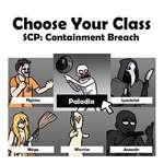 Choose Vour Class SCP: Containment Breach