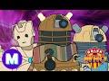 Doctor Who Parody: Dalek Who,Comedy,doctor who,the doctor,bbc,gallifrey,skaro,dalek,the daleks,dalek who,doctor who new year special,doctor who resolution,doctor who resolution dalek,bbc worldwide,doctor who funny,doctor who animation,doctor who cartoon,doctor who spoof,crash bandicoot