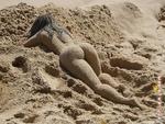 женщина из песка