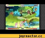 MLP: Fighting is Magic - Fluttershy,Games,,This video shows scenes from a game currently in development. The footage in this video belong to a pre-release testing build of Fighting is Magic; As such, content, mechanics, movesets, sounds, animations and effects might differ from the final release