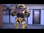 Terminator full-suit test-walk,Entertainment,,Foam build - 2 months - 2k USD - Private build non-profit Watch more here: www.facebook.com/rosesandboltshells Soundtrack: Mark Petrie_Dark Heart