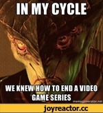 WE KNEW HOW TO END A VIDEO GAME SERIES mcmegencrator.net