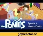 My Little Pony in The Sims - Episode 1 - the Hooves Family,Film,,It's just another normal day for the Hooves family... or is it? Take a peek into their daily life as they live through another of their daily grind, Sims style!  The game that eats a large portion of my childhood, the very first sims