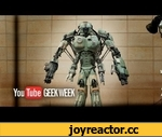 Giant Robot Mech WALKING TEST - YouTube Geek Week - Stan Winston School,Tech,,SUBSCRIBE to SWSCA on YouTube: http://bit.ly/Zp70T4 Giant Robot Walking Test at Legacy Effects Stan Winston School built a giant robot mech costume in partnership with Wired, YouTube and Legacy Effects. Check out the