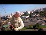 Ниндзя снимает баннер Навальный,People,,