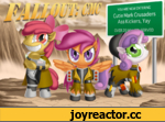 """YOU ARE NOW ENTERING Cutie Mark Crusaders Ass Kickers, Yay OVER ?nuiU'""""Mcrnwrn"""