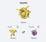 Hypno Random Hypster Cloyster Random