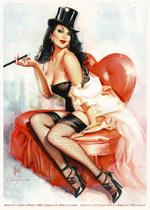 Artwork <9 Cedric Poulat / http://j-estacado.deviantart.com . based on a Gil Elvgren picture. Zatanna © DC comics