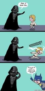 Люк, я ТВОЙ ОТЕЦ